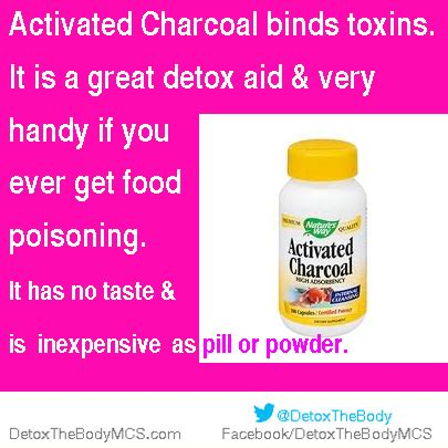 Activated Charcoal Detox Symptoms by Activatedcharcoalposter Detox Your