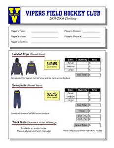 clothing order form template best photos of clothing form template clothing order