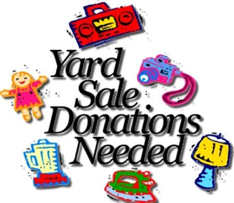 Exceptional Church Clothing Donation #4: Yardsaledonation.jpg