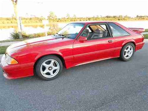 1991 saleen mustang purchase used 1991 mustang saleen sc in melbourne florida
