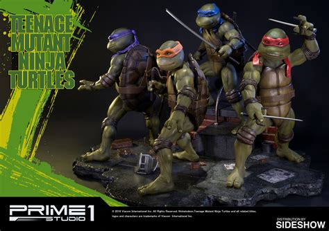 Mutant Turtles Tmnt Mutant Turtles Polystone Statue By Prime Sideshow Collectibles