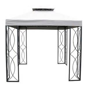 8x8 Gazebo Canopy Replacement Lowes by Garden Treasures 8 X 8 Steel Gazebo S 582d S 582dn