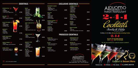 2 4 1 Cocktails Al Duomo