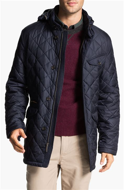 Brothers Quilted Jacket by Brothers Quilted Walking Jacket In Blue For