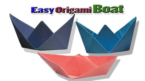 origami boat folding origami boat tutorial how to make origami boat folding