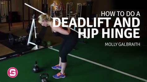 deadlift  hip hinge girls  strong