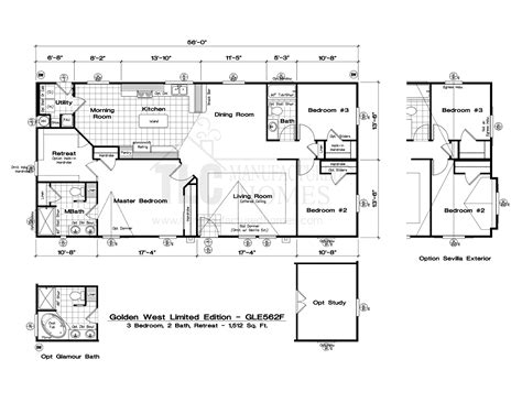 golden west manufactured homes floor plans 28 images