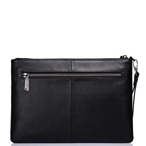 edinburgh series clutch bag black