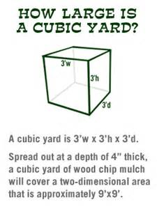 How To Find Cubic Yards How Large Is A Cubic Yard