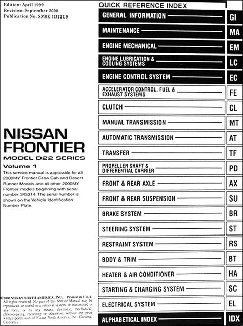 small engine service manuals 1998 nissan frontier auto manual 1998 nissan frontier fuse box diagram 37 wiring diagram images wiring diagrams gsmx co