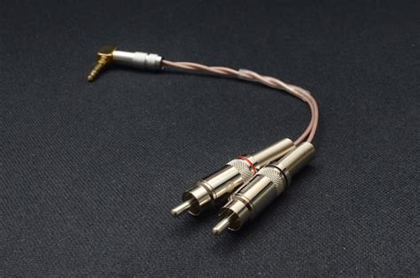 Diy Silver Plated Audiophile Aux Cable 35mm To 50cm wts diy audio cable