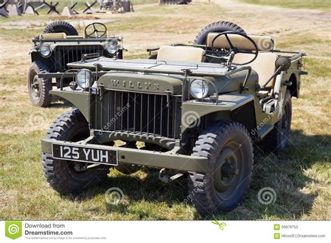 Jeep W Willys Jeep Editorial Stock Photo Image 56879753