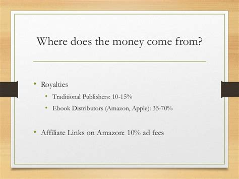 self publishing for entrepreneurs - Where Does The Money Come From For Publishers Clearing House