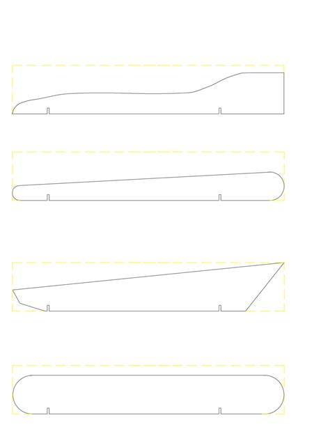 free car template free pinewood derby car designs templates