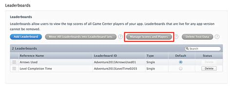 how to mod game center leaderboards apple allows developers to modify game center leaderboards