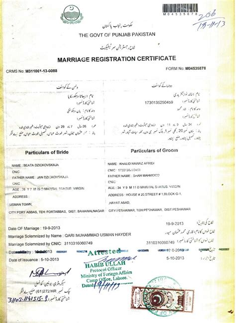 Process for court marriage what documents required