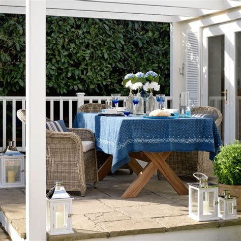 outdoor dining area outdoor dining area country garden ideas housetohome co uk