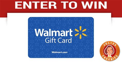 Win Free Gift Cards Walmart - pass the ten sweepstakes julie s freebies