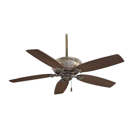 Ceiling Fan Without Light In Beige Finish F659 Fb Ceiling Fan Without Lights