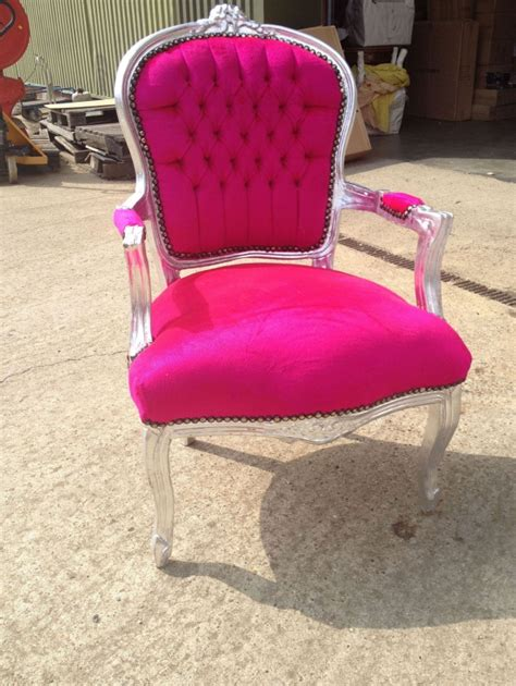 Pink Velvet Armchair by Pink Velvet Armchair With Silver Frame Free Delivery