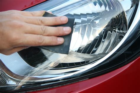 yellow light on car how to brighten your car s yellowing headlights 8 steps