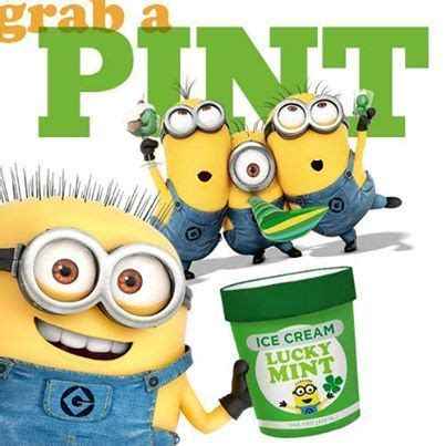 st s day minion pics grab a pint lucky mint happy st s day minion land