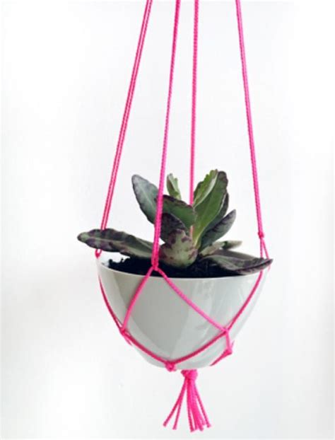 Easy Macrame Plant Hanger - 18 diy macram 233 plant hanger patterns guide patterns