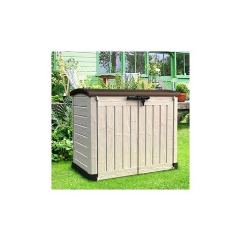 coffre de jardin en resine coffre de jardin multifonctions en r 233 sine 1200l keter