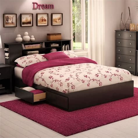 black queen storage bed south shore breakwater queen storage mates frame only