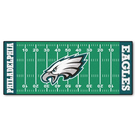 Kitchen Faucets Denver by Fanmats Philadelphia Eagles 2 Ft 6 In X 6 Ft Football