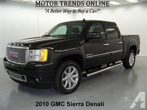 manual cars for sale 2010 gmc yukon navigation system 2010 gmc sierra 1500 truck denali awd navigation for sale in alvin texas classified