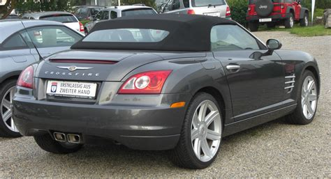 Chrysler Crossfire Wiki by File Chrysler Crossfire Roadster Rear Jpg