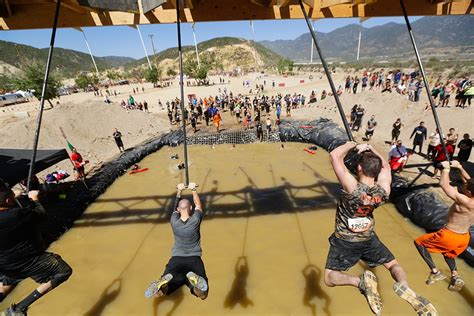 scenes   tough mudders insane obstacles