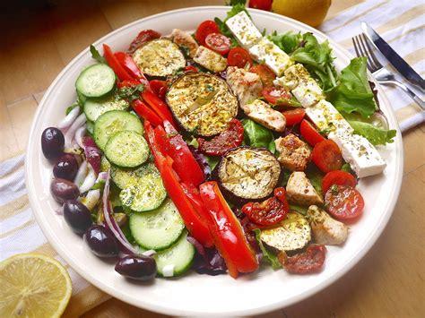 greek salad recipe with grilled lemon chicken culicurious grilled greek salad recipe dishmaps
