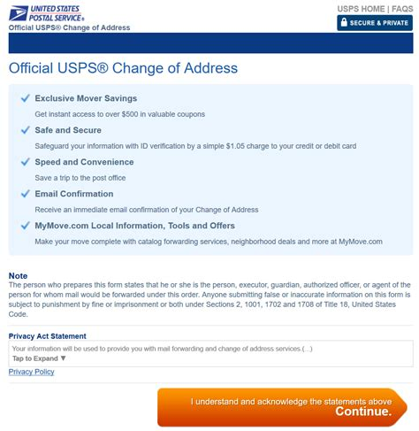 Usps Address How To Let The Usps That You Are Moving Columbushoa