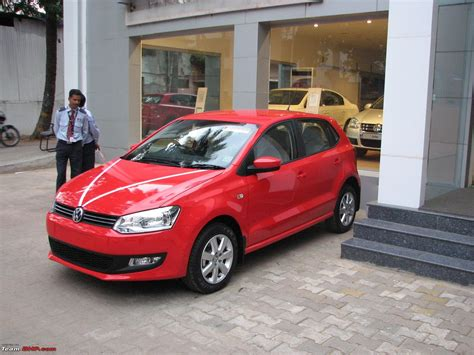 volkswagen polo red finally the red beauty comes home yes it s a vw polo
