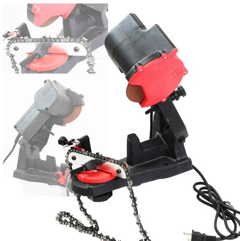 chainsaw bench sharpener electric grinder chain saw bench sharpener review