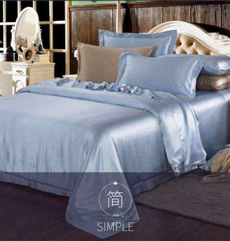 Cheap King Size Silk Sheet Sets European Silk Jacquard 3d Cheap Silk Bed Sets
