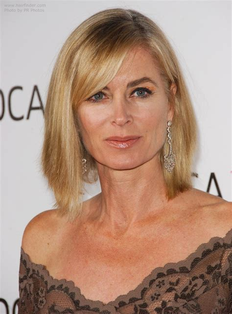 eileen davidson hair cut eileen davidson medium length straight hairstyle for