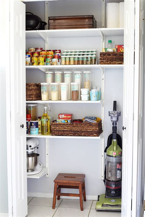 Frugal Kitchen Makeover - 20 incredible small pantry organization ideas and makeovers the happy housie