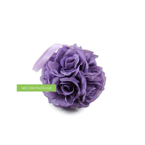 kissing ball with lights 4 inches wisteria kissing ball purple pomander ball