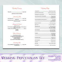 free printable church program template hydrangea free printable church program template hydrangea
