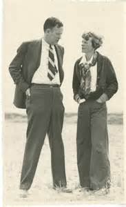 Amelia Earhart Essay by Amelia Earhart And George Palmer Putnam Quot My Flies Also She Writes And Is An Independent