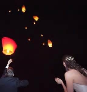 lanterne volanti piccole lanterne volanti matrimonio eventi non