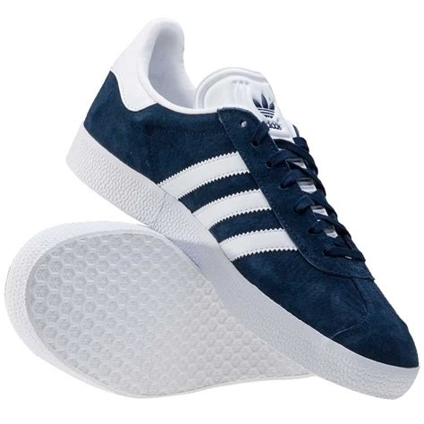 Adidas Gazele Navy adidas gazelle womens trainers in navy white