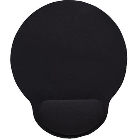 Gel Wrist Rest Mouse Pad Black 207tf7 manhattan wrist rest mouse pad black 434362 b h photo