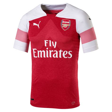 raglan arsenal 05 football team ordinal apparel arsenal 2018 19 home jersey revealed soccer365