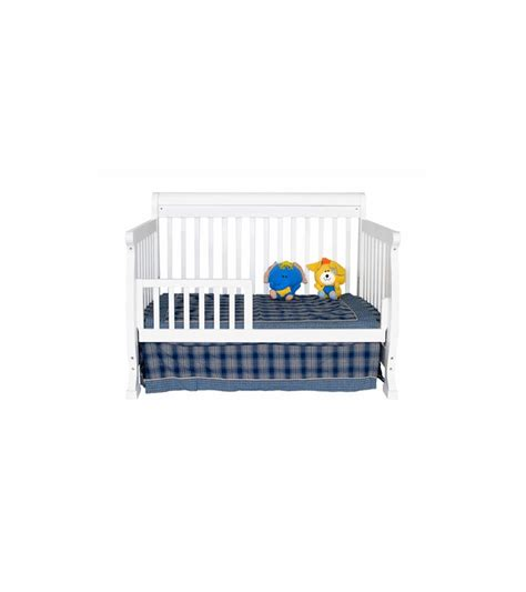 Davinci Kalani 4 In 1 Convertible Crib With Toddler Rail Davinci Kalani 4 In 1 Convertible Crib In White