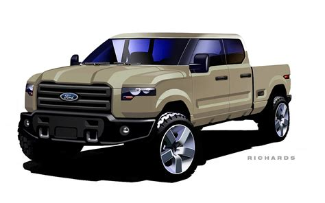 concept ford truck ford atlas concept evolution from sketch to show stopper
