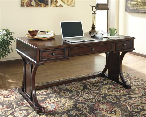 Desk For Office At Home Devrik Home Office Desk H619 27 Home Office Desks Price Busters Furniture
